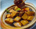 排骨焖咸豆干