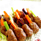 越式蔗虾丸