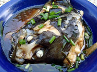 清蒸鸦片鱼头