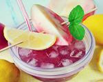 蜜桃提子冰饮