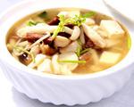 菌菇鸡汁豆腐汤