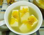 石斛花豆腐汤