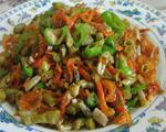 咸豆角炒米虾