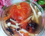 番茄蘑菇紫菜汤