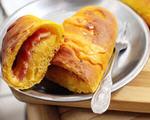 南瓜培根芝士面包