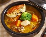 木瓜螃蟹土鸡汤