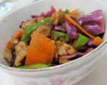 包菜红萝卜炒肉