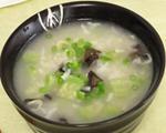 丝瓜木耳虾皮粥