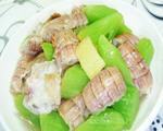 莴笋炒虾蛄