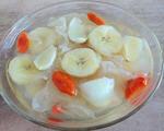 香蕉百合银耳汤