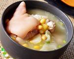 大白菜黄豆煲猪蹄
