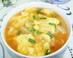 大白菜鸡蛋瘦肉汤