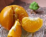 用烤箱烤橘子(治风热咳嗽)