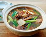 鱿鱼螺肉蒜汤