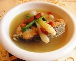 野生海鲈鱼汤