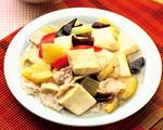 酸甜凤梨豆腐