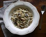 牛肝菌野菇炖饭