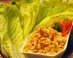 台式生菜虾松