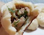 上海葱肉生煎包