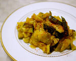 南瓜野菇炒鸡肉(低脂高纤瘦身餐)