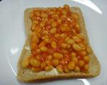 英式烤豆吐司