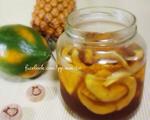 青木瓜凤梨酵素糖浆