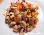 西式炒磨菇