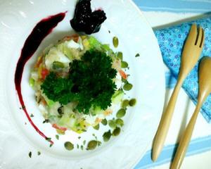 蔬果马铃薯沙拉(蛋素)
