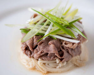 白灼花椒滑牛肉