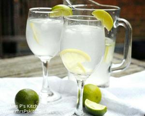 自制姜汁柠檬水
