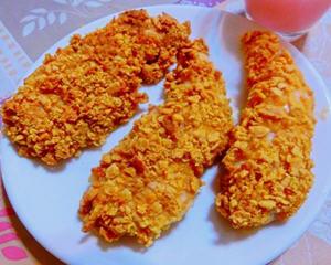 玉米片烤鸡块