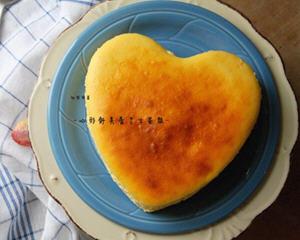 心形舒芙蕾芝士蛋糕
