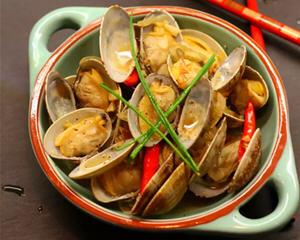 香啤炒花蛤