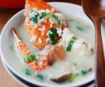 海蟹蘑菇菜泡饭