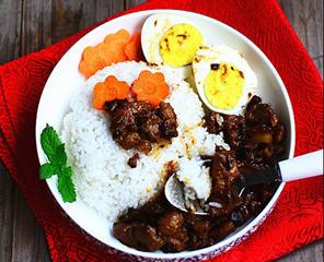 自制台湾卤肉饭