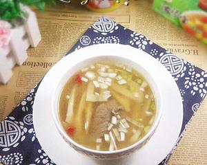 水煮竹笋汤
