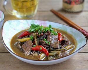 酸菜水煮牛肉
