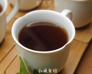 琼珍紫灵芝煮水(治疗糖尿病)