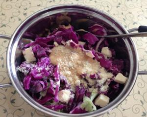 紫色蔬菜沙拉