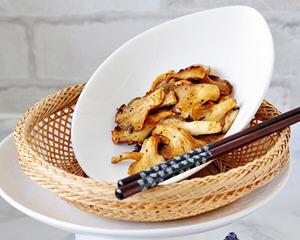 黑椒蚝油蘑菇少油版