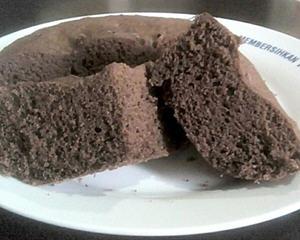 蒸鸡蛋糕巧克力版