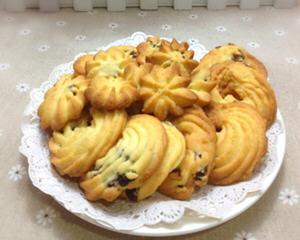 葡萄干曲奇饼干