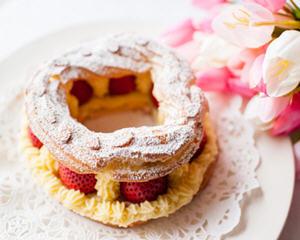 草莓布雷斯特泡芙(情人节特供)
