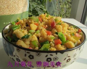 藜麦玉米炒饭