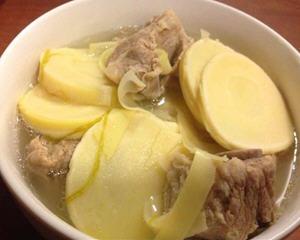 冬笋排骨汤