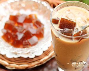 自制咖啡冻鲜奶茶