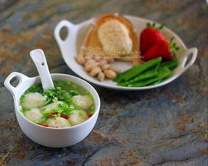 自制龙利鱼圆汤
