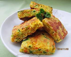 金夏南瓜煎饼