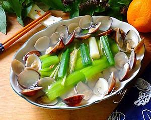 清蒸蛤蛎丝瓜