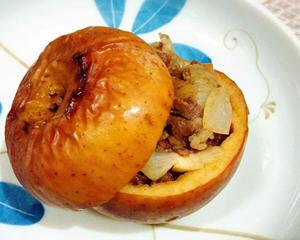 迷迭香羊肉苹果盅